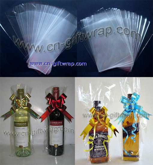 wine bottle cello bag