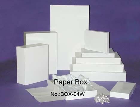 Die Cut white box