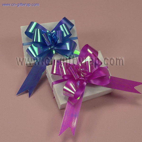 IRIDESCENT pull bows