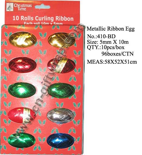 Metallic Ribbons