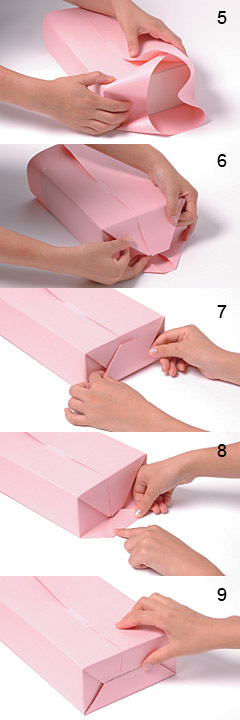 Gift packing method