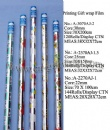 Printed gift wrap flim roll