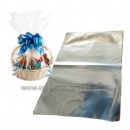Large Clear Cellophane Basket Bags 35x40 inch