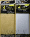 Metallic tissue paper   (bags packing)