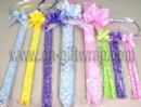LACY & PRINT PULL BOW
