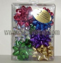 Metallic  star bows set